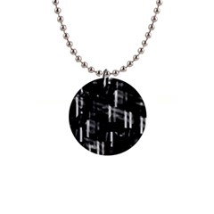 Black And White Neon City Button Necklaces by Valentinaart