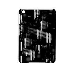 Black And White Neon City Ipad Mini 2 Hardshell Cases by Valentinaart