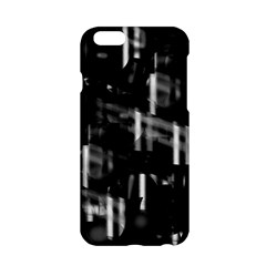 Black And White Neon City Apple Iphone 6/6s Hardshell Case