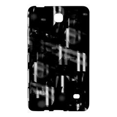 Black And White Neon City Samsung Galaxy Tab 4 (7 ) Hardshell Case  by Valentinaart