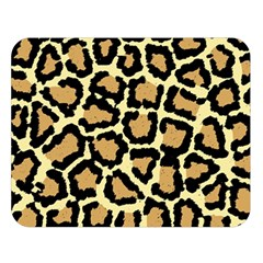 Pink Leopard Double Sided Flano Blanket (large)