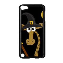 Halloween Giraffe Witch Apple Ipod Touch 5 Case (black) by Valentinaart