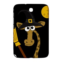 Halloween Giraffe Witch Samsung Galaxy Note 8 0 N5100 Hardshell Case  by Valentinaart