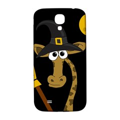 Halloween Giraffe Witch Samsung Galaxy S4 I9500/i9505  Hardshell Back Case by Valentinaart