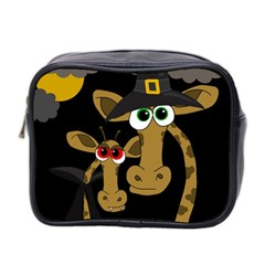 Giraffe Halloween Party Mini Toiletries Bag 2 Side