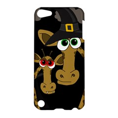 Giraffe Halloween Party Apple Ipod Touch 5 Hardshell Case by Valentinaart