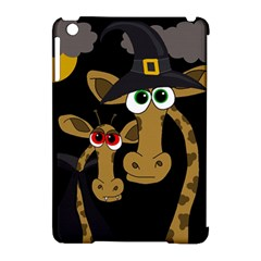 Giraffe Halloween Party Apple Ipad Mini Hardshell Case (compatible With Smart Cover) by Valentinaart