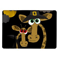 Giraffe Halloween Party Samsung Galaxy Tab 10 1  P7500 Flip Case