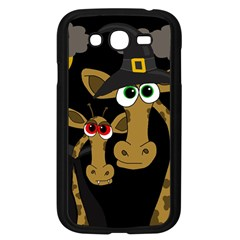 Giraffe Halloween Party Samsung Galaxy Grand Duos I9082 Case (black) by Valentinaart
