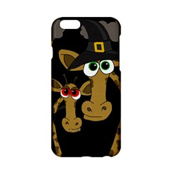 Giraffe Halloween Party Apple Iphone 6/6s Hardshell Case by Valentinaart