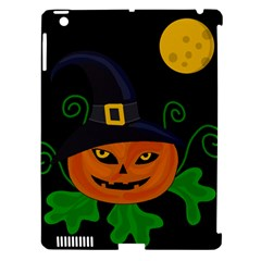 Halloween Witch Pumpkin Apple Ipad 3/4 Hardshell Case (compatible With Smart Cover) by Valentinaart