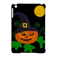 Halloween Witch Pumpkin Apple Ipad Mini Hardshell Case (compatible With Smart Cover) by Valentinaart