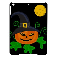 Halloween Witch Pumpkin Ipad Air Hardshell Cases by Valentinaart