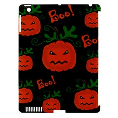 Halloween Pumpkin Pattern Apple Ipad 3/4 Hardshell Case (compatible With Smart Cover) by Valentinaart