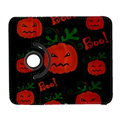 Halloween Pumpkin Pattern Samsung Galaxy S  Iii Flip 360 Case by Valentinaart