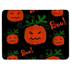 Halloween Pumpkin Pattern Samsung Galaxy Tab 7  P1000 Flip Case by Valentinaart