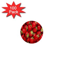 Red Fruits 1  Mini Magnets (100 Pack)  by AnjaniArt