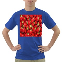 Red Fruits Dark T Shirt by AnjaniArt