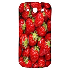 Red Fruits Samsung Galaxy S3 S Iii Classic Hardshell Back Case