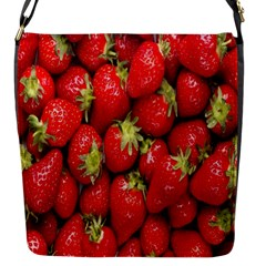 Red Fruits Flap Messenger Bag (s) by AnjaniArt