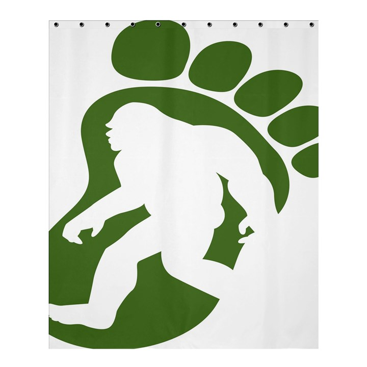 Sasquatch Shower Curtain 60  x 72  (Medium)