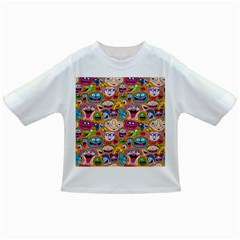 Smiley Pattern Infant/toddler T Shirts