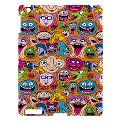 Smiley Pattern Apple Ipad 3/4 Hardshell Case by AnjaniArt