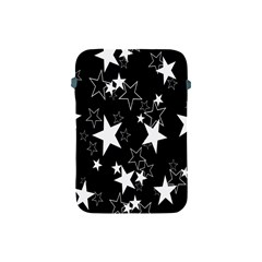 Star Black White Apple Ipad Mini Protective Soft Cases by AnjaniArt
