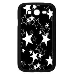 Star Black White Samsung Galaxy Grand Duos I9082 Case (black) by AnjaniArt