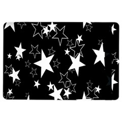 Star Black White Ipad Air 2 Flip