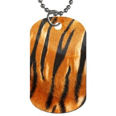 Tiger Dog Tag (two Sides)
