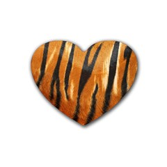Tiger Heart Coaster (4 Pack)