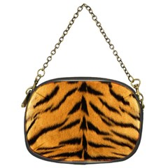 Tiger Skin Chain Purses (two Sides)