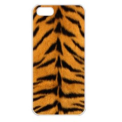 Tiger Skin Apple Iphone 5 Seamless Case (white)