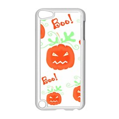 Halloween Pumpkins Pattern Apple Ipod Touch 5 Case (white)