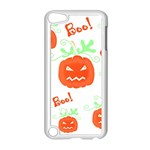 Halloween pumpkins pattern Apple iPod Touch 5 Case (White) Front