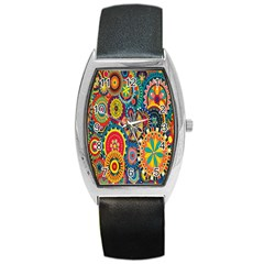 Tumblr Static Colorful Barrel Style Metal Watch