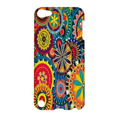 Tumblr Static Colorful Apple Ipod Touch 5 Hardshell Case