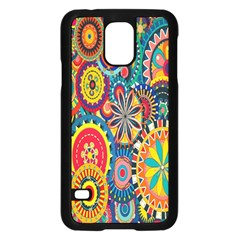 Tumblr Static Colorful Samsung Galaxy S5 Case (black)