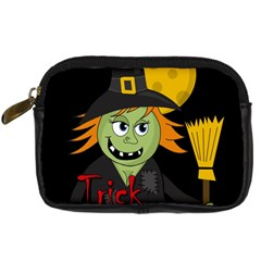 Halloween Witch Digital Camera Cases by Valentinaart