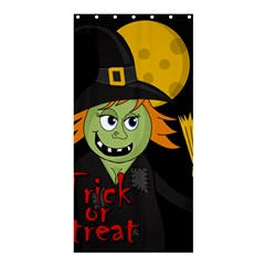 Halloween Witch Shower Curtain 36  X 72  (stall)  by Valentinaart