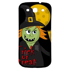 Halloween Witch Samsung Galaxy S3 S Iii Classic Hardshell Back Case by Valentinaart