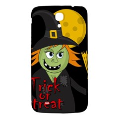 Halloween Witch Samsung Galaxy Mega I9200 Hardshell Back Case by Valentinaart