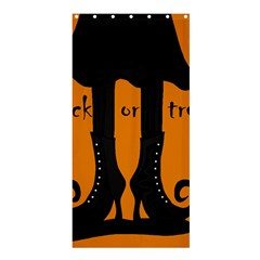 Halloween   Witch Boots Shower Curtain 36  X 72  (stall)  by Valentinaart