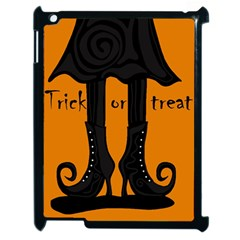 Halloween   Witch Boots Apple Ipad 2 Case (black) by Valentinaart