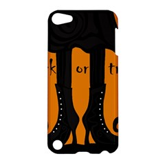 Halloween   Witch Boots Apple Ipod Touch 5 Hardshell Case by Valentinaart