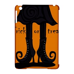 Halloween   Witch Boots Apple Ipad Mini Hardshell Case (compatible With Smart Cover) by Valentinaart