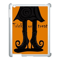 Halloween   Witch Boots Apple Ipad 3/4 Case (white) by Valentinaart