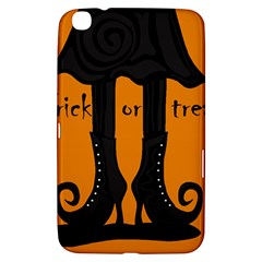 Halloween   Witch Boots Samsung Galaxy Tab 3 (8 ) T3100 Hardshell Case  by Valentinaart