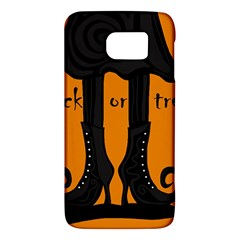 Halloween   Witch Boots Galaxy S6 by Valentinaart